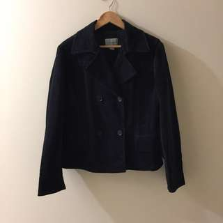 Trendy vintage black velvet jacket - CHEAP PRICE