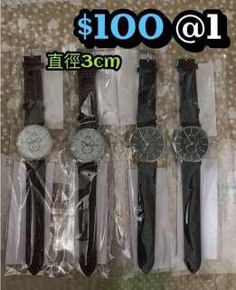 🆕 全新 迪士尼系列 tsum tsum 米奇 可愛 手錶 一隻