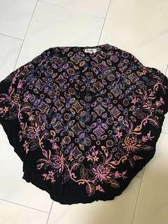 Original batik keris top size s(lightly worn)