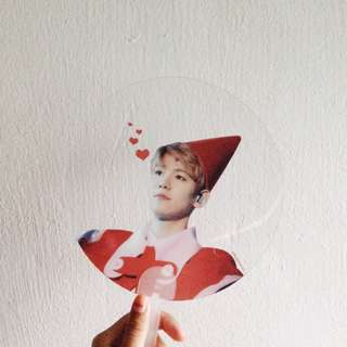 EXO baekhyun transparent fan