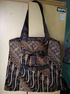 Batik bag - Black Brown