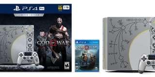 BRAND NEW PS4 GOD OF WAR 4 BUNDLE