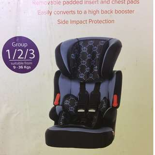 Kiddie Care Child Car Seat imported from UK