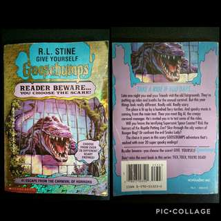 GOOSEBUMPS Book 1