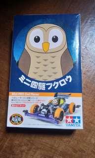 LOW PRICE_Genuine TAMIYA Mini 4wd Owl Racer