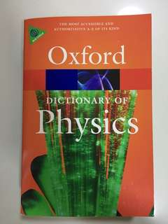 Oxford Dictionary of Physics (Sixth Edition)