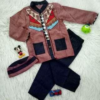 Boy Moslem Clothes Devan