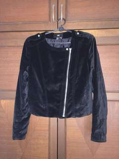 Black Crop Jacket from H&M (barely used)
