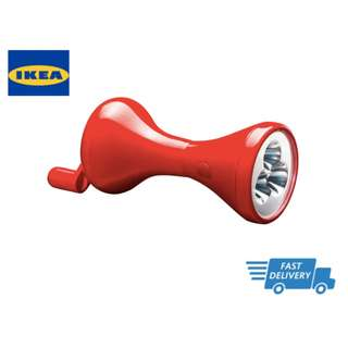 IKEA LJUSA LED torch, hand-driven FAST DELIVERY