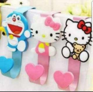 In Stock Doraemon Hanging Hook  Hello Kitty Design Hanging Hook