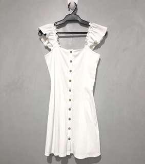 Forever 21 White Dress - M