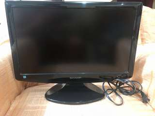 "Sharp 14"" TV"