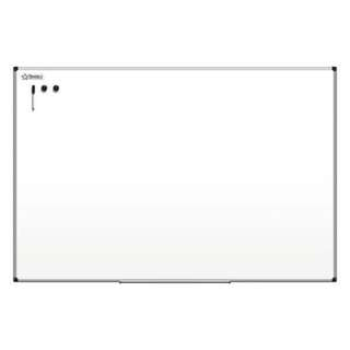 "Magnetic Dry-Erase Board With Aluminum Frame, 36"" x 47"", White Board, Silver Frame"
