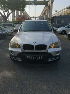 Bmw X5  3.0 Auto (Silver) Very good condition