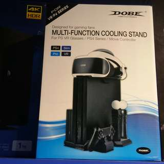 Dobe Multi function cooling stand PS VR Glasses/PS4/Move Controller