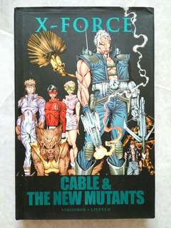 Marvel comics - X-Force Cable and the New Mutants