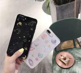 宇宙星空軟膠iPhone Case