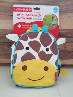 Skip Hop Mini Backpack with Rein