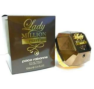 Lady million prive for woman