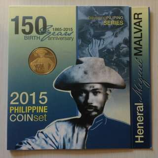 Miguel Malvar Commemorative Medal and 2015 Coinage