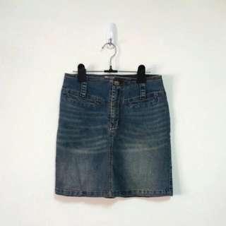 🚚 彈性牛仔短裙