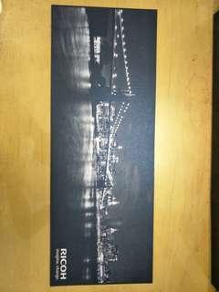 Black & white photo paper print