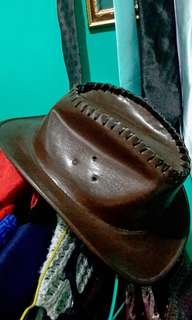 30% DISCOUNT!!! Handmade Cowboy Hat. UNISEX. Dark Brown