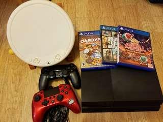 PS4 連3game 2手制加太鼓