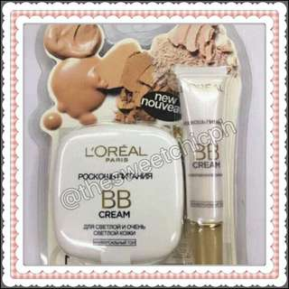 Loreal BB Cream Cushion Powder and Cream Bundle