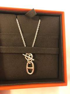Hermes 925 silver 頸鏈