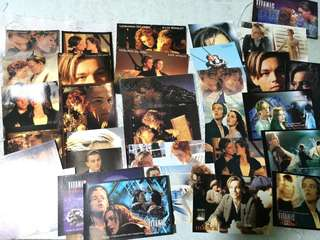 "100% New Movie ""Titanic"" Postcards"