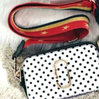 Marc jacob Polkadot White