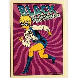 1994 Skybox Simpsons Series 2 - Base Card #R5 - Black Partridge