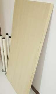 IKEA LINNMON Table with Legs - Beige