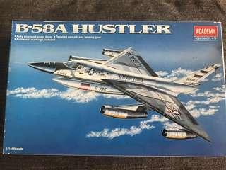 Aircraft Hobby Model Kits; B-58A Hustler