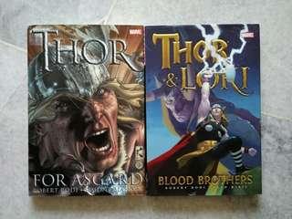 Marvel comics - THOR & LOKI set of 2