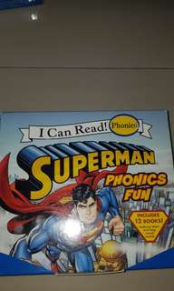 I Can Read Phonics - Superman