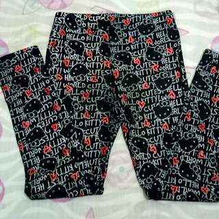 Sanrio Girls Leggins Black
