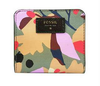Authentic Fossil Floral Printed Small Purse