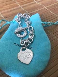 Tiffany Heart Toggle bracelet