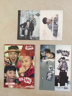 Yes 筆記簿 及 書簽 - BIGBANG