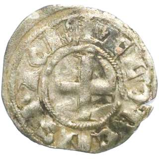 Billon Coin From the Holy Crusades 1289 - 1297AD
