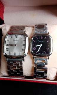 Original Watch Bakly#Best Offer for Hari Raya Promition#Set for Couple#Rm 400#price still can nego until Let Go for the best buyer#0123779396#wassap only