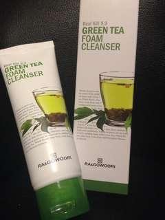 Green tea Facial foam cleanser