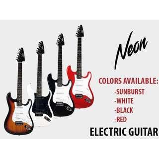 [Brand New] Taloha NEON Electric Guitar + Amplifier [Ready Stock]