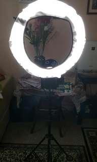 Nanguang CN-65C Pro Fluorescent light Photography Video Studio Continuous Macro Ring Light 5400K 220V/110V 65W Day Lighting
