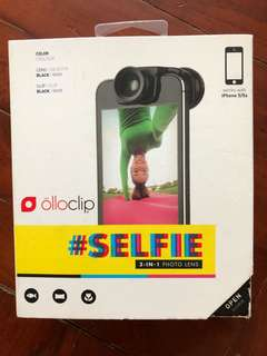 Olloclip #selfie 3 in 1 photo lens For iphone 5