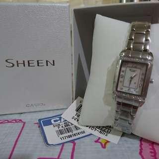 Repriced Casio sheen watch