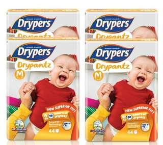 Drypers Drypantz M/L/XL/XXL