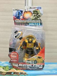 Transformers Takara United UN07 Bumblebee